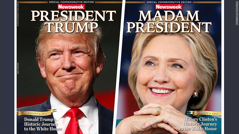 Американські ЗМІ оголосили президентами і Клінтон, і Трампа (ФОТО) - фото 1