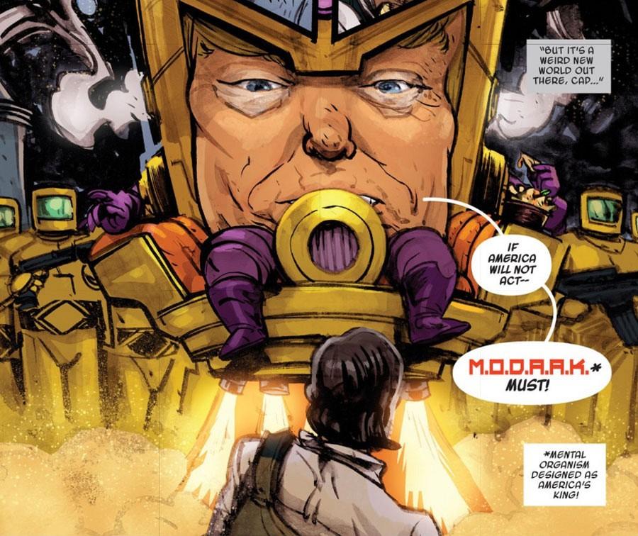 Як Путін, Трамп і Обама приміряли ролі супергероїв - фото 3