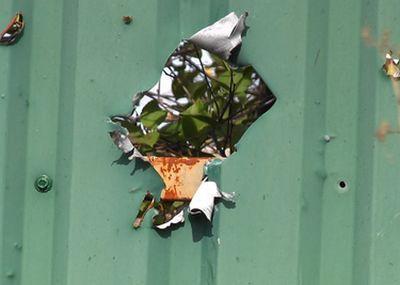 У мережі оприлюднили фото наслідків обстрілу околиць Донецька (ФОТО) - фото 5