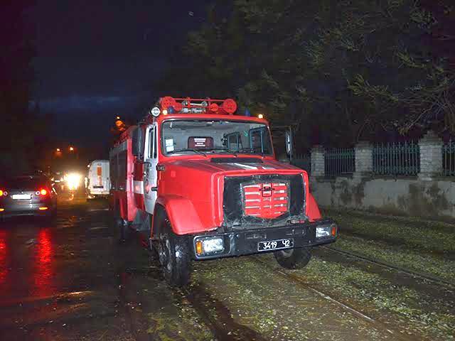 У Миколаєві прямо на ходу запалав трамвай