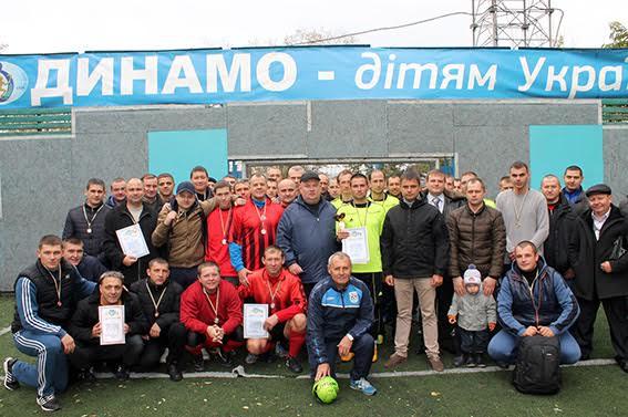 Миколаївські поліцейські охорони помірялися силами на футбольному полі