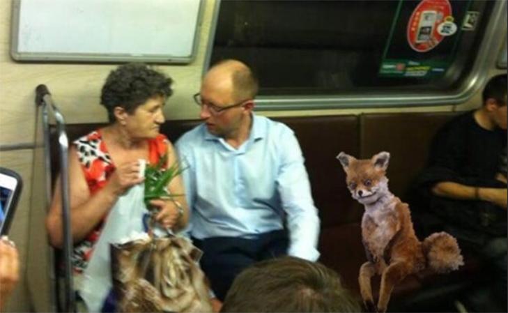 Порошенко, Обама, Путін... Кого ще можно зустріти у метро (ФОТОЖАБИ) - фото 6