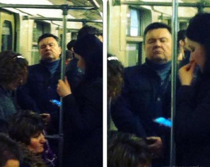 Порошенко, Обама, Путін... Кого ще можно зустріти у метро (ФОТОЖАБИ) - фото 9