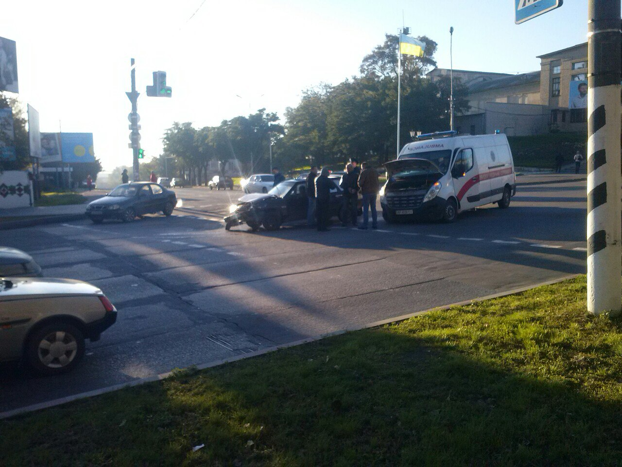 У Мелітополі в одному місці сталися дві аварії протягом години - фото 2
