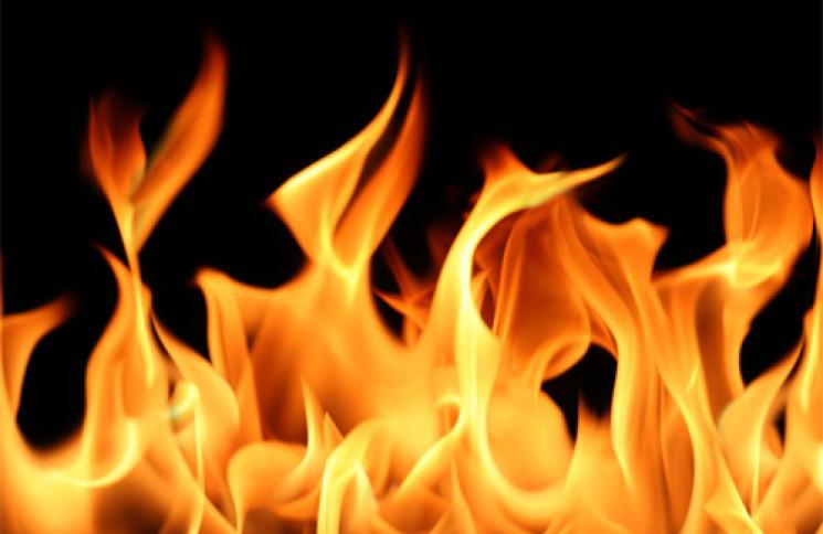На Хортице загорелась сауна…