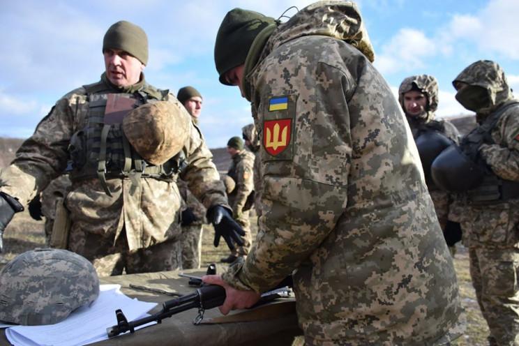 Бойову підготовку вдосконалюють гармаші…