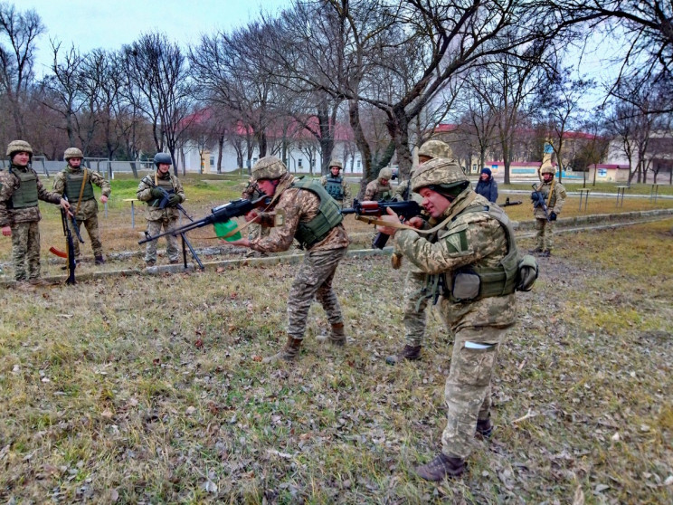 На Одещині морпіхи проходять підготовку…