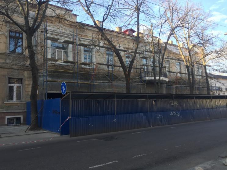 В Одесі ремонтують школу,  яка функціону…