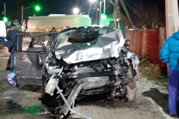 Біля Львова водій перетворив автомобіль…