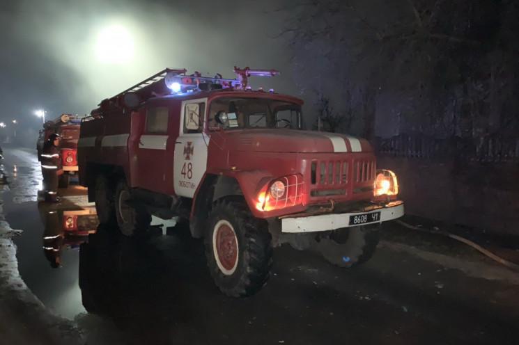 Под Харьковом спасатели всю ночь тушили…