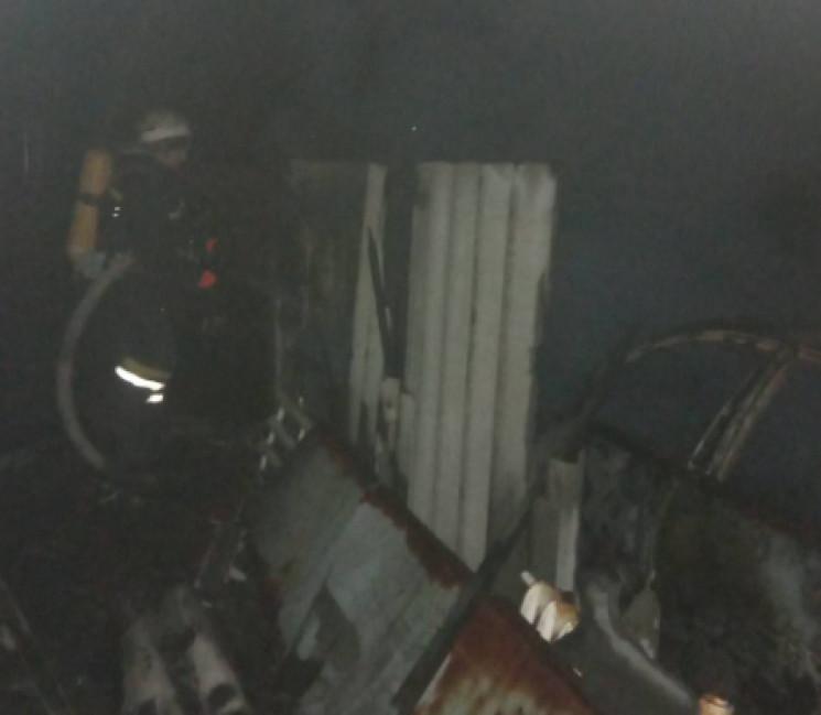 На Кропивнитчине дотла сгорел припаркова…
