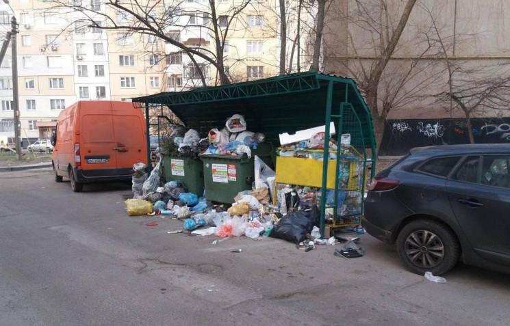 Львів знову тоне у смітті (ФОТО)…