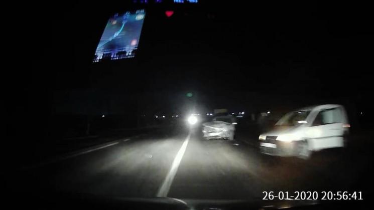 На об'їзній дорозі Львова зіткнулися три…