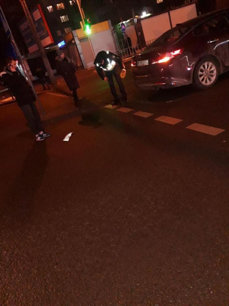 У Львові водій втік з місця ДТП, але заг…