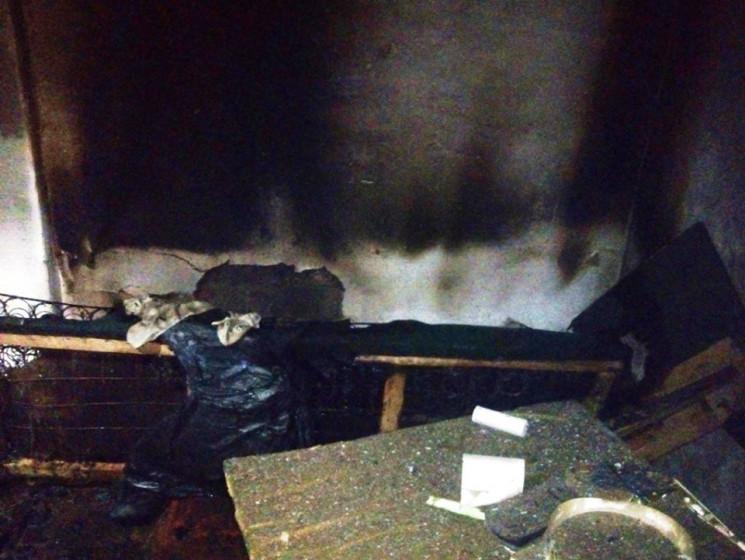 В Херсоне во время пожара погиб пенсионе…