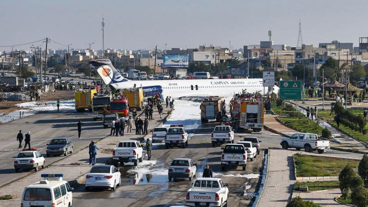 В Иране едва не разбился самолет со 136…