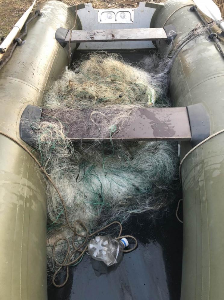 На Кропивнитчине вытащили шесть браконье…