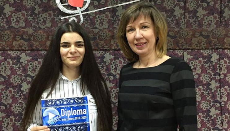 Школярка з Краматорська перемогла у міжн…