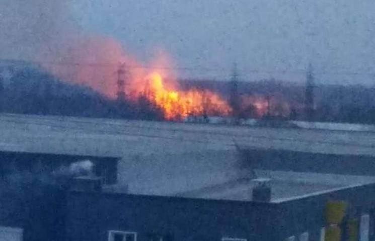 Біля Львова виникла пожежа (ФОТО, ВІДЕО)…