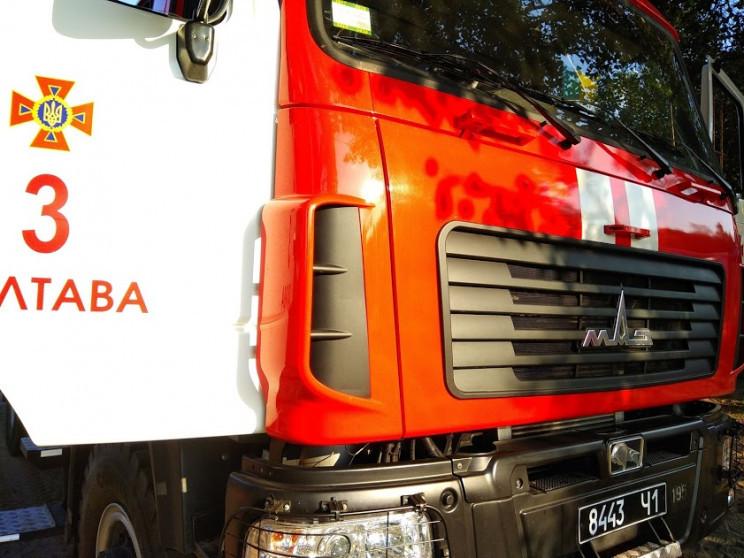 На Полтавщине в Зиньковском районе пожар…