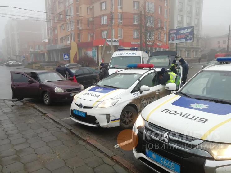 """В Полтаве столкнулись """"ВАЗ"""" и Volvo, в р…"""
