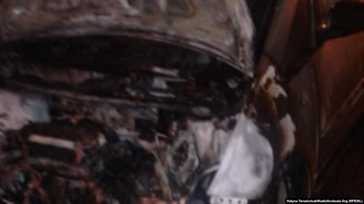 У Львові спалили авто журналістки…