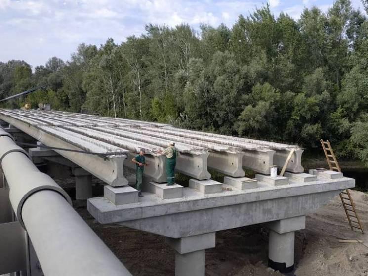 Рух скандальним мостом через Сулу на Пол…