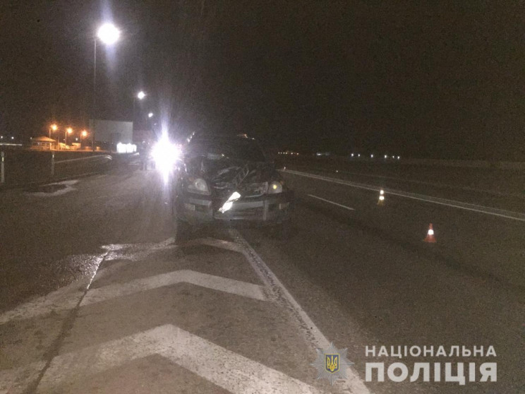 Біля Клеверного мосту у ДТП загинув пішо…