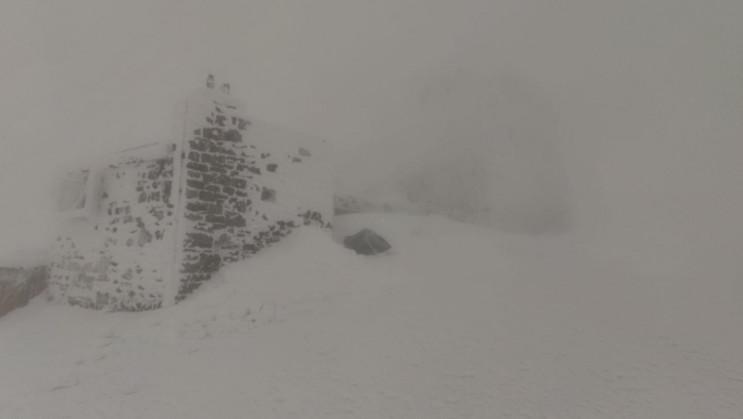 На горі Піп Іван вирує зима…