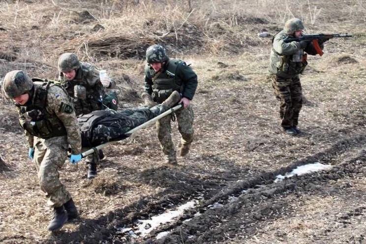 Война на Донбассе: Один погиб, один ране…