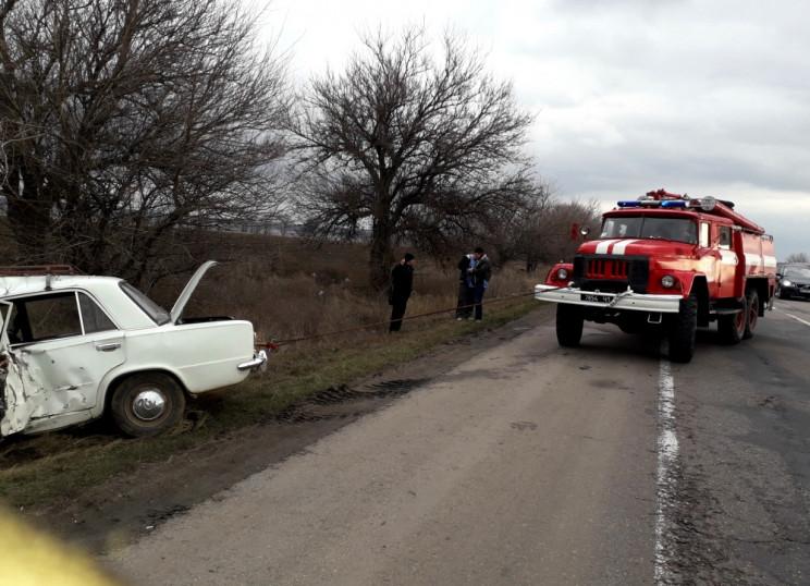Авария на автодороге Киев-Одесса, есть п…