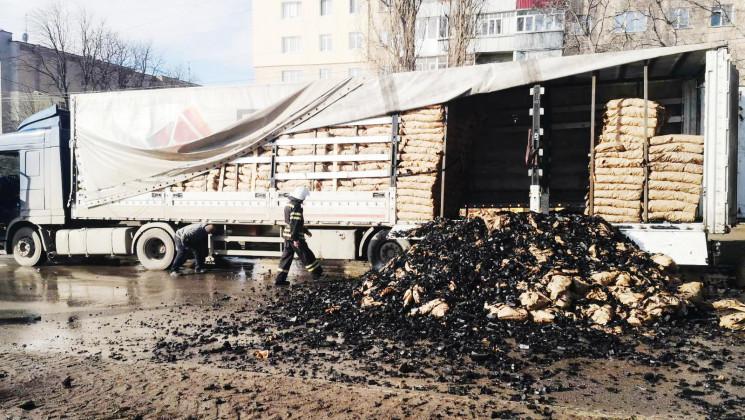 У Кам'янці посеред вулиці спалахнула ван…