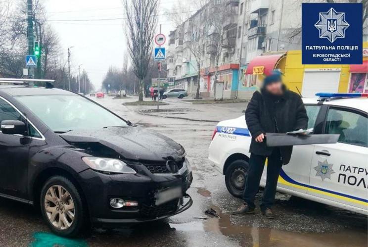 У Кропивницькому сталася ДТП на вулиці Я…