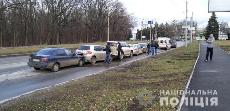 В Харькове полиция выясняет причины стол…