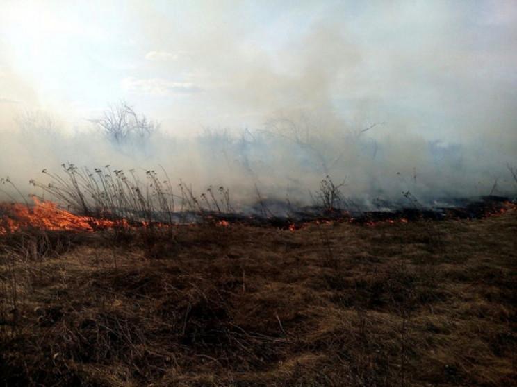На Полтавщині під час спалювання сміття…