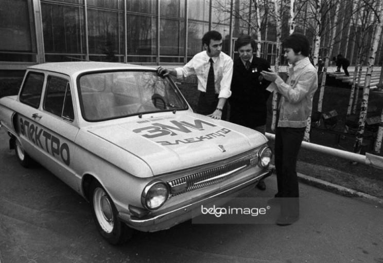Каким был первый украинский электромобил…