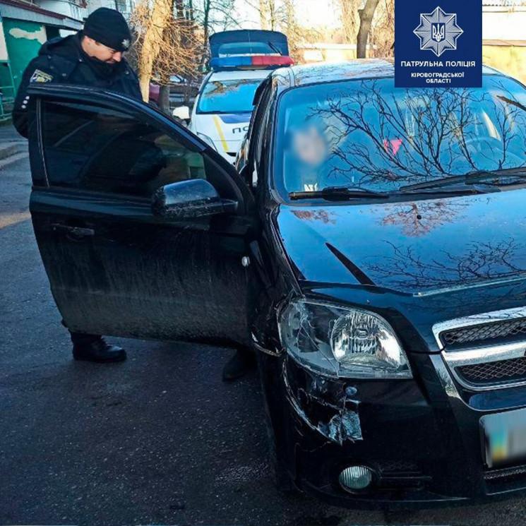 В Кропивницком водитель врезался в комму…