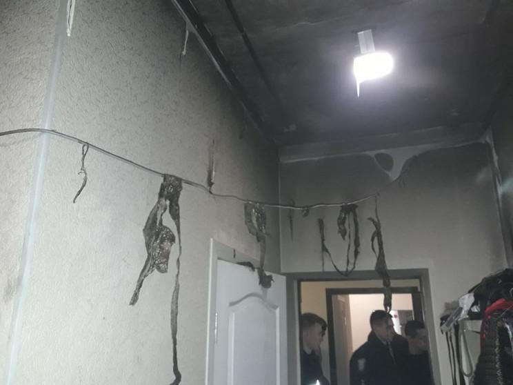 В Днепре дети подожгли потолок: На вызов…