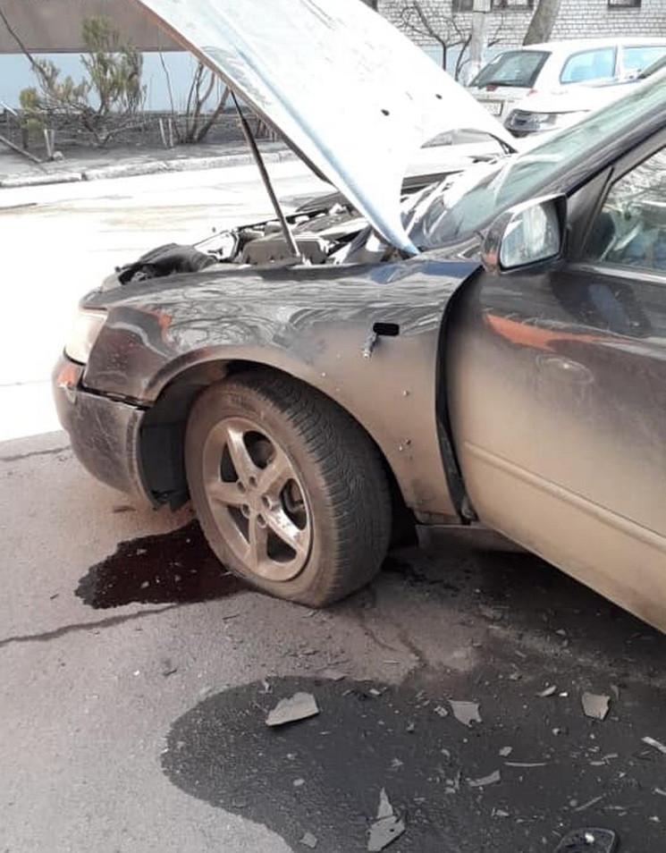 Автомобиль бизнесмена в центре Днепра по…