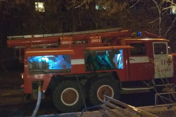 У Харкові з палаючої висотки евакуювали…