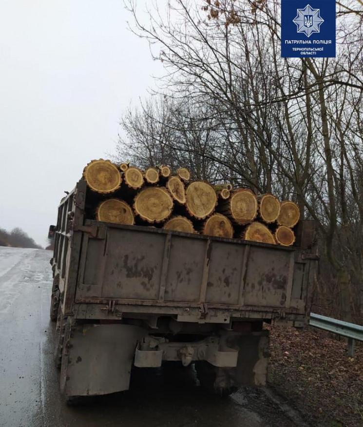 """На Тернопільщині піймали вантажівку з """"н…"""