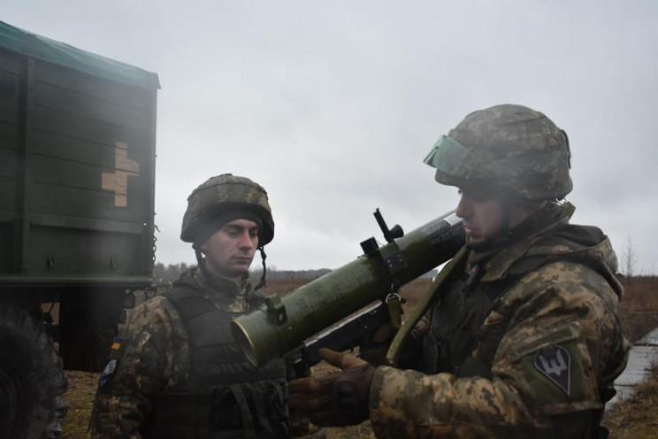 На Днепропетровщине десантники тренирова…