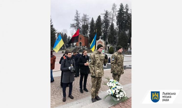 У Львові вшанували пам'ять полковника УП…