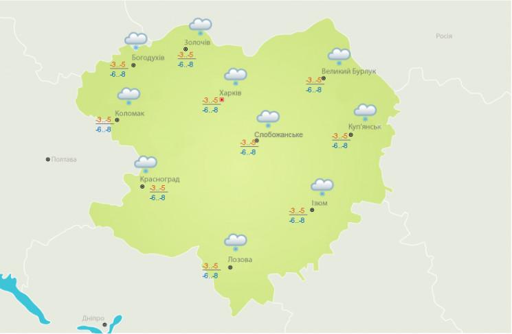 Северный ветер и снег: На Харьковщине ух…
