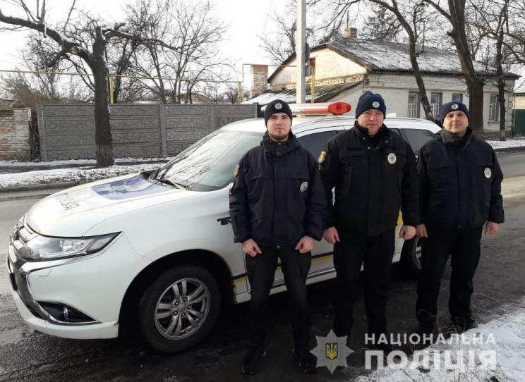 В Александрии полицейские вытащили мужчи…