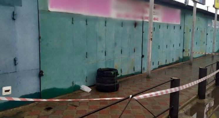 На Херсонщині евакуювали ринок через мол…
