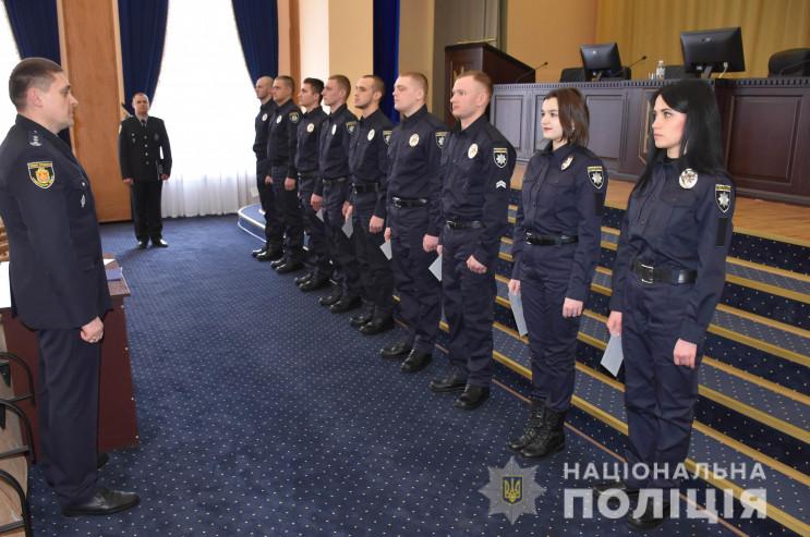 В Кропивницком полицейские приняли прися…