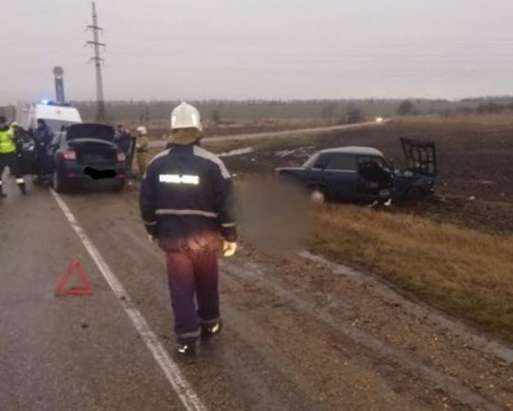 """На Кубані в ДТП загинув водій """"п'ятірки""""…"""