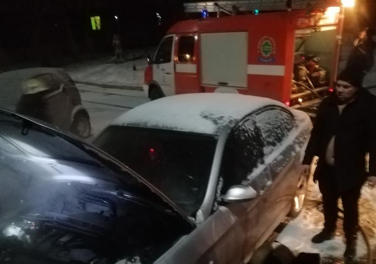 В Кропивницком ночью горел BMW…