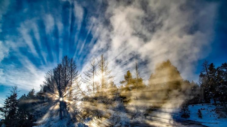 Зимове сонце, нічні морози та денна відл…